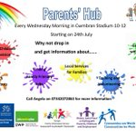 Image for the Tweet beginning: Parents Hub Every Wednesday Morning in