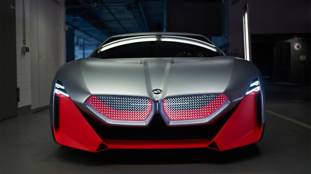 Bmw On Twitter A Pulse Accelerator The Bmw Vision M Next Set In