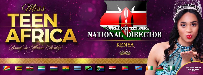 A new Queen will be born in Kenya!!!🇰🇪🇰🇪🇰🇪. We are pleased to announce our new National director from the 'Cradle of humanity'.  Jambo and welcome on board! #BeautyInAfricanHeritage #Swahili #Pageant #Africa