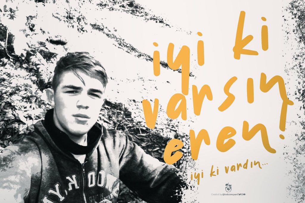 Eren Bülbül...   O bizim kahramanımız! O bu vatan uğruna daha 15 yaşında toprağa düşen yiğit evladımız!   Elbette ki sponsorumuz @TK_TR'nin  yeni uçağının #AdıErenOlsun   İlk uçuşunu da Eren'imizin ailesiyle birlikte Trabzon'dan yapsın 🇹🇷