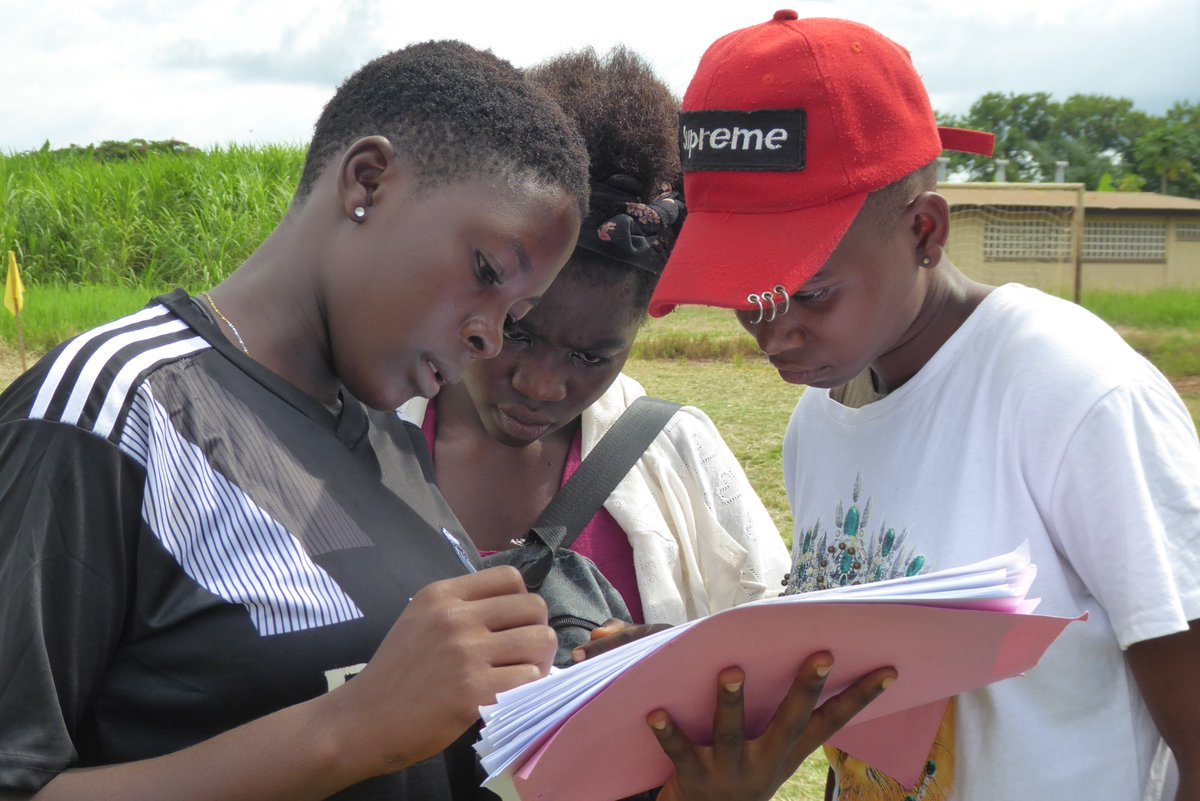 Our Girls Leadership Initiative focuses on gender equity through education, employment, decision making and health. Open Field uses peer-to-peer training so participants can communicate in their local language.  #girlpower #youthdevelopment #leadership #womencoaches