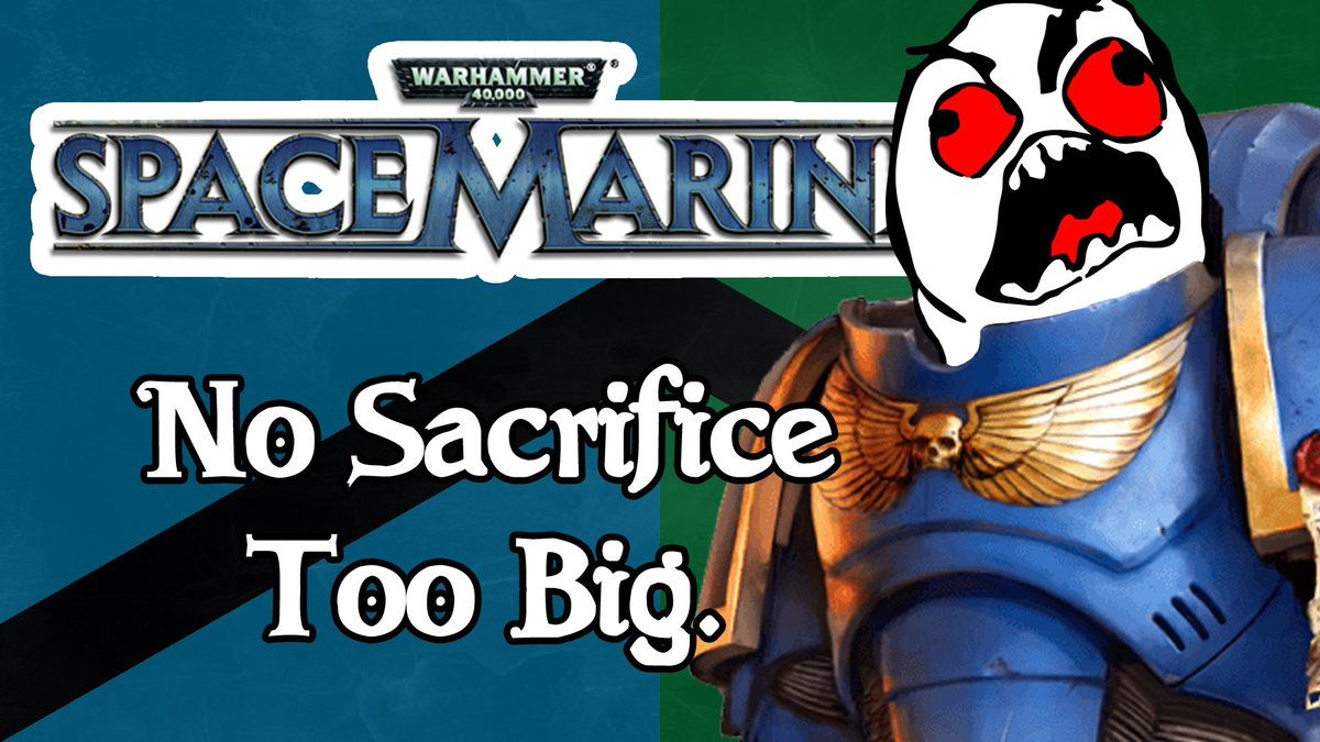 Link needs a little bit of rest, so we're back with Captain Titus and the boys in #Warhammer 40k #SpaceMarine  And you know it's going to be good, because we're grabbing an upgrade to our Fury skill!  #GamesWorkshop #gaming #PS3  @FearRTs   https://youtu.be/gpEs8eA4p1Y
