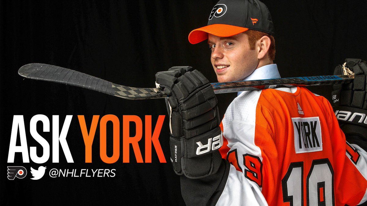 @NHLFlyers's photo on #AskYork