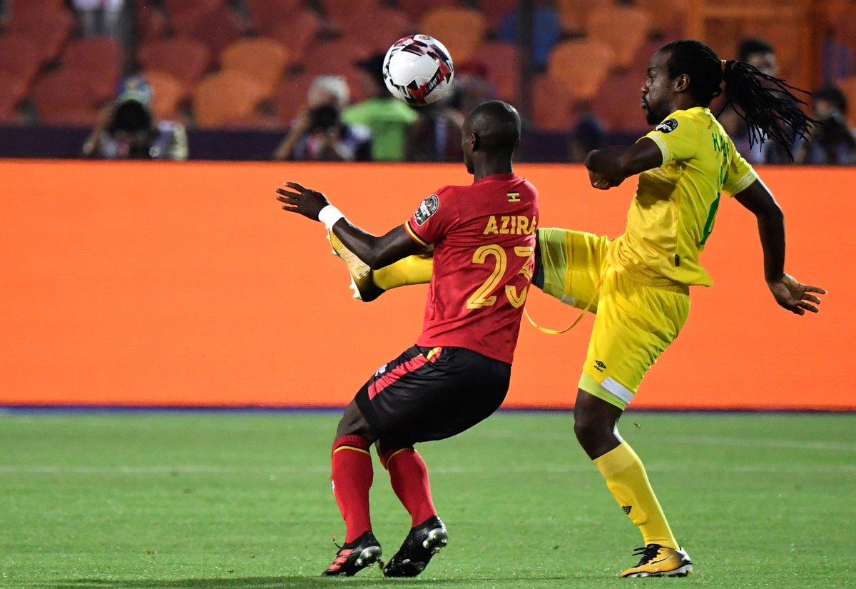 "Daily Monitor on Twitter: ""Uganda's midfielder Michael Azira (L ..."