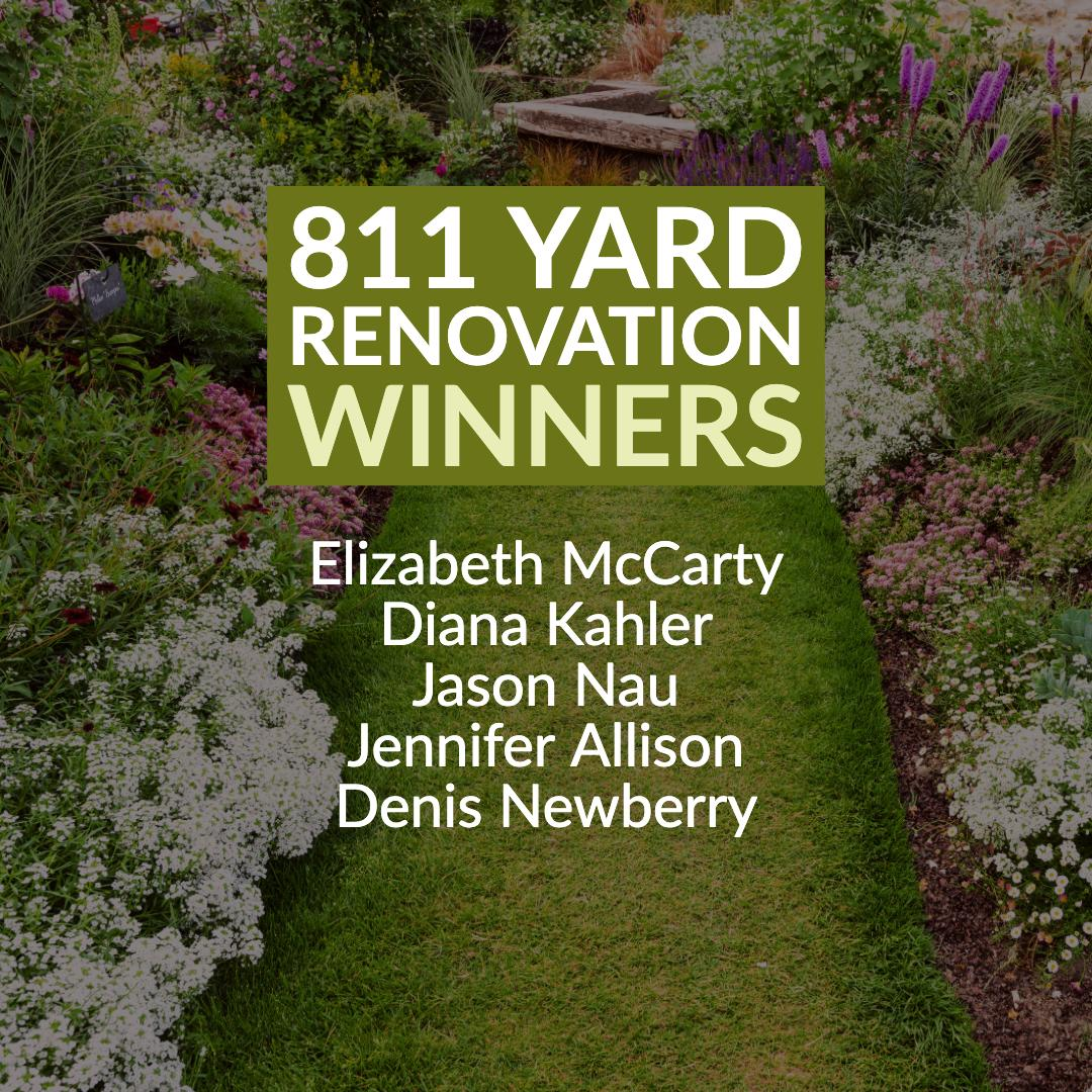 Congratulations to our 2019 Yard Reno Contest winners! https://t.co/ZIFmFdzkSy Thank you to…