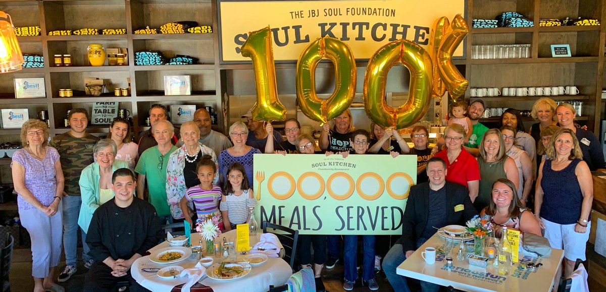 Jbj Soul Foundation On Twitter Congratulations Jbjsoulkitchen On 100 000 Meals Thank You To Our Guests And Jbj Soul Kitchen Staff Who Celebrated With Us At The Jbj Soul Kitchen In Toms River