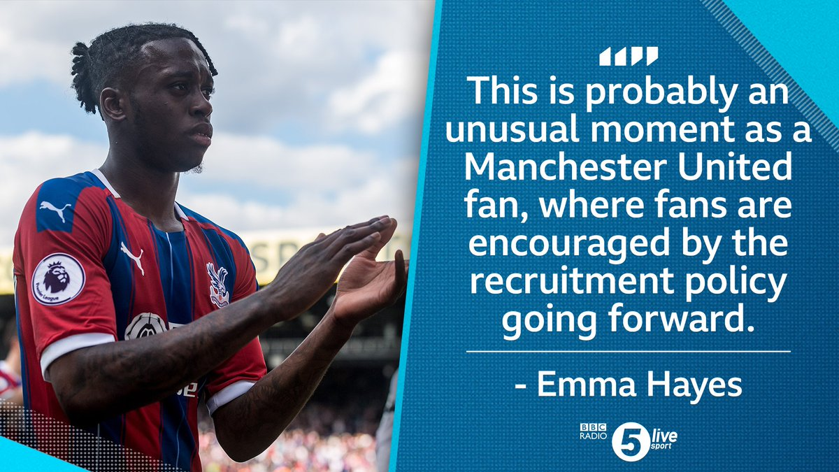 '#MUFC fans will be enthused by the signing of @awbissaka'@emmahayes1 on the £50m deal that brought the young right-back to Old Trafford📻📱 - http://bbc.in/2J8Z2Ou #bbcfootball