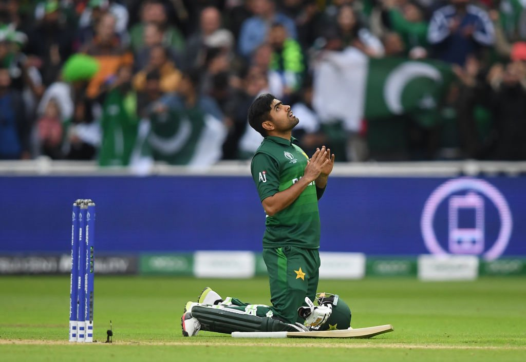 What an innings, what a player. #CWC19 | #NZvPAK | #WeHaveWeWill
