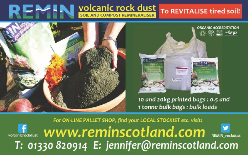test Twitter Media - Can't make the Soil Regeneration Course with @REMIN_rockdust this weekend in Scotland? Don't worry! You can still you give your soil a bumper dose of naturally occurring minerals and elements by buying through their online shop here - https://t.co/vTiQnpppcc https://t.co/GD4YTAApRO