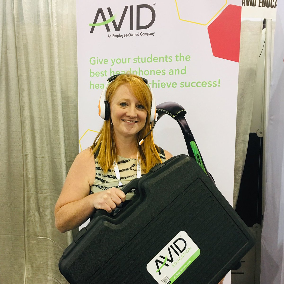 Congrats to our @iste Class Pack winners @cortneygehrke, @mrbarrett404 and @iheartmsjohnson! We hope you and your students enjoy your new #avidheadphones!  #edtech #iste19 #iste2019 #avideducation