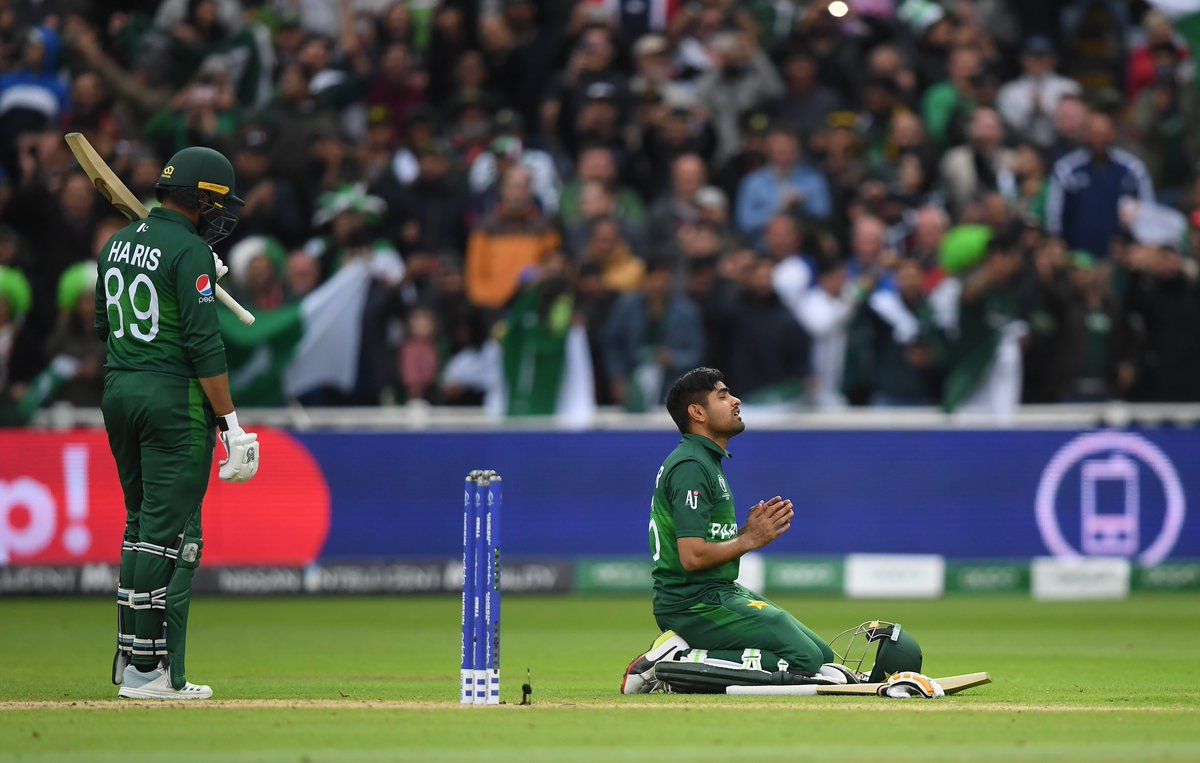 Take a bow @babarazam258!An unbeaten 101 helped steer @TheRealPCB to a hugely important victory over New Zealand at Edgbaston. Re-live their best shots here!#WeHaveWeWill | #CWC19