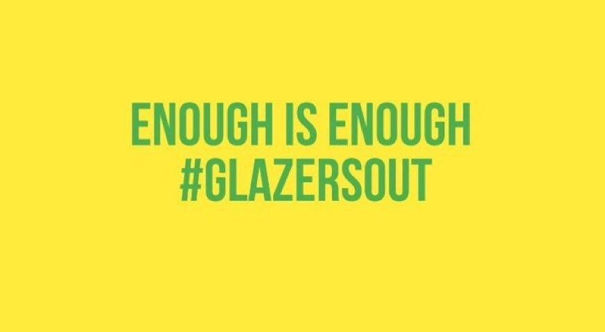 It's that time again. Enough is enough #GlazersOut https://t.co/18BzvQVHta