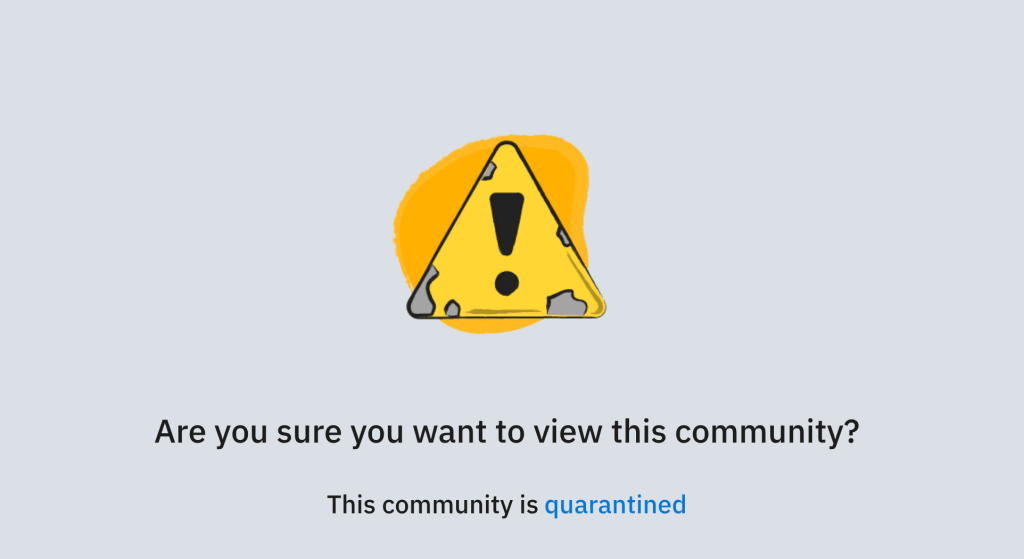 Reddit quarantines its biggest headache https://tcrn.ch/2X6sIFQ by @lucasmtny