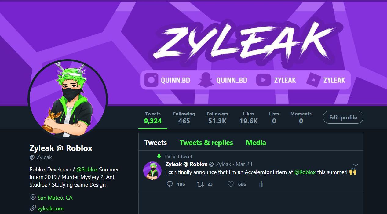 Zyleak Quinn On Twitter New Profile Picture Banner Thanks