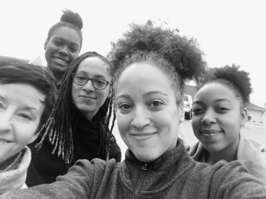 """.@Spelman_DT lecturer Dr. Julie Johnson's performance installation """"Idle Crimes & Heavy Work,"""" focuses on Black women's experiences of gendered & racial violence within the context of incarceration & convict labor. Experience it tomorrow @MOCAGA: http://bit.ly/2JaJ06F"""