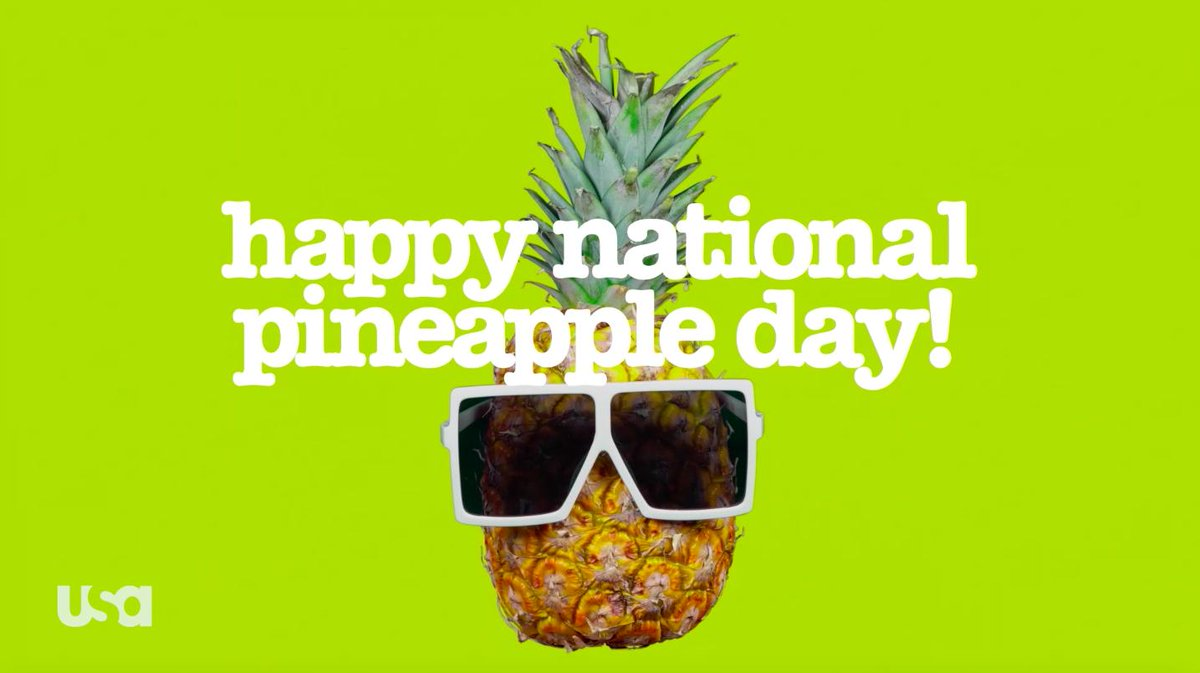Ring it. Spear it. Dice it. 🍍 Whichever way you slice it, you know you're excited for #NationalPineappleDay!