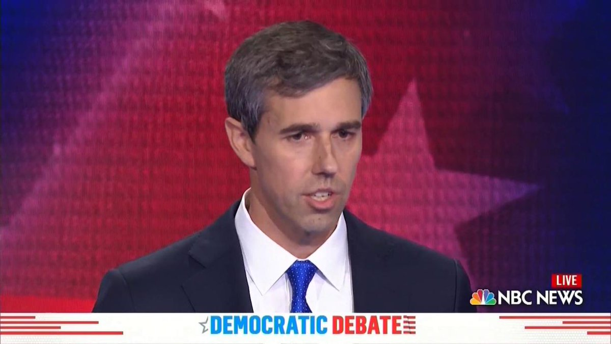 Beto O'Rourke's First Debate Answer Is Already A 2020 Election Meme
