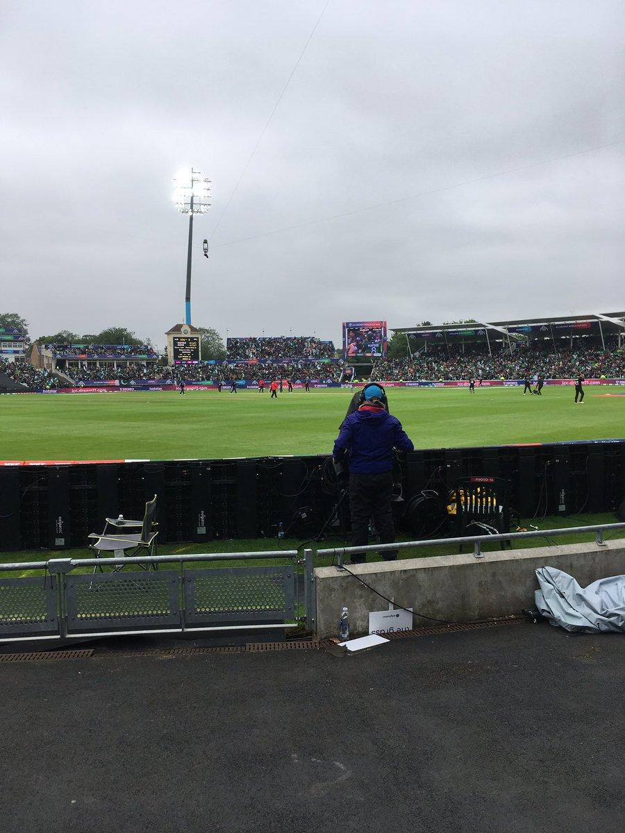 Edgebaston...... Wierd game, New Zealand woeful, Pakistan not much better really 🤔#CricketWorldCup