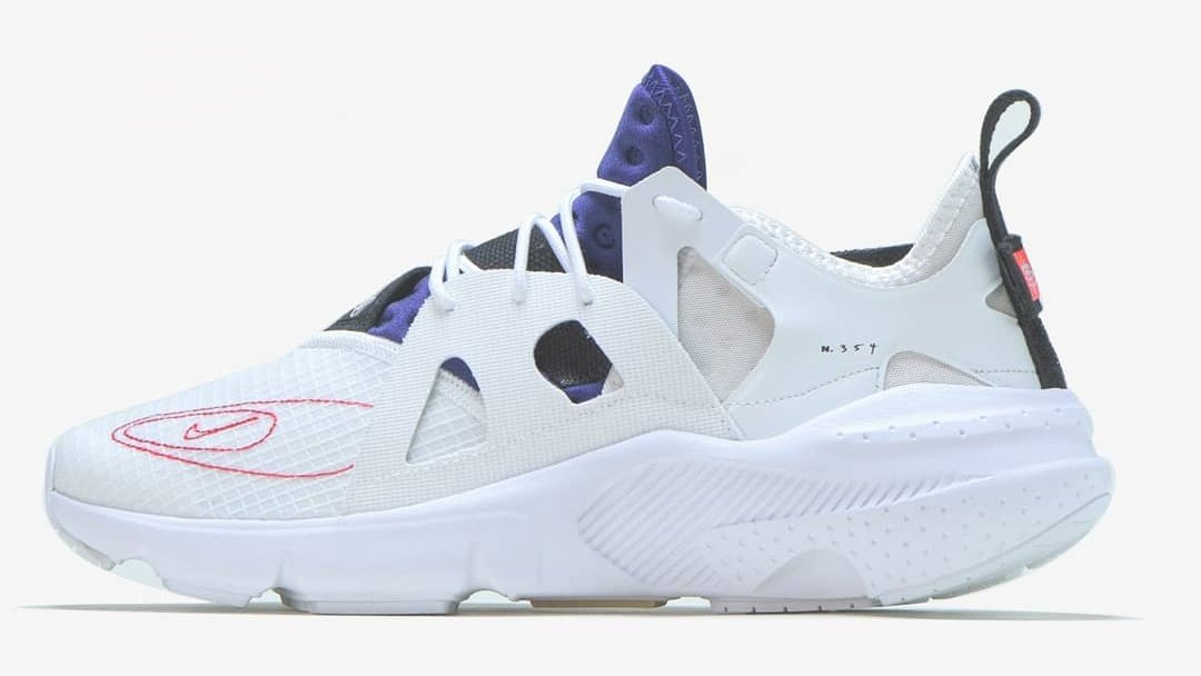 factory authentic 620bf d1a62 The Nike's N.354 series Huarache Type drops in a red, white ...