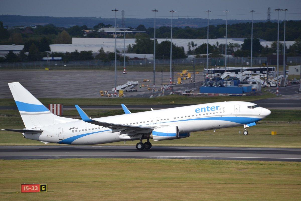 Mañana tiene previsto operar en Asturias este B737-800 SP-ENZ de Enter Air procedente de Tallin (18:30hrs). Saldrá 1 hr más tarde hacia CDG. @AeroPrincipado @spotterAsturias @J_Merino_B @BarcenaFoto