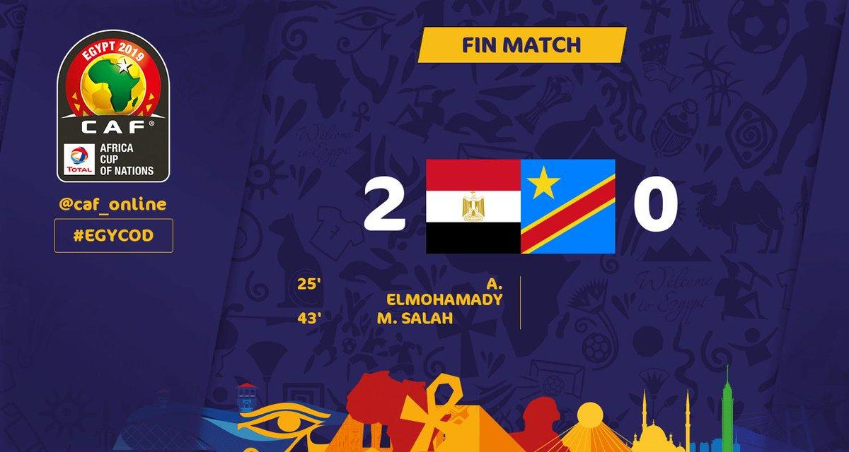 Egypte-RD Congo