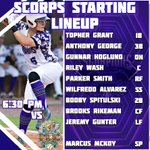 Image for the Tweet beginning: The Scorps take on @FCSLRats