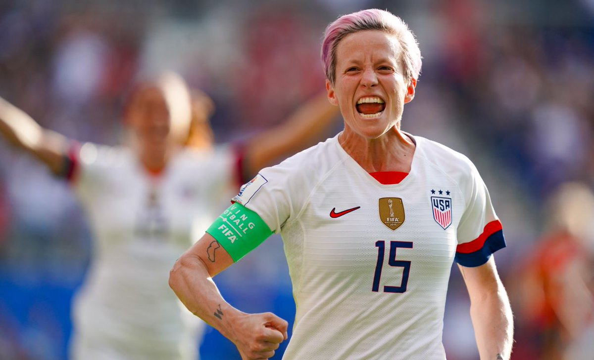US president Donald Trump has criticised US women's team co-captain Megan Rapinoe on #Twitter.Get the full story➡https://bbc.in/2xd38j1 #USA #FIFAWWC