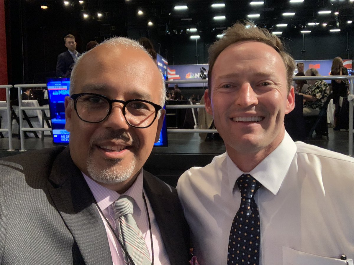 Hey Hoyas! Former @GUPolitics fellow @PatrickMurphyFL is in the spin room!