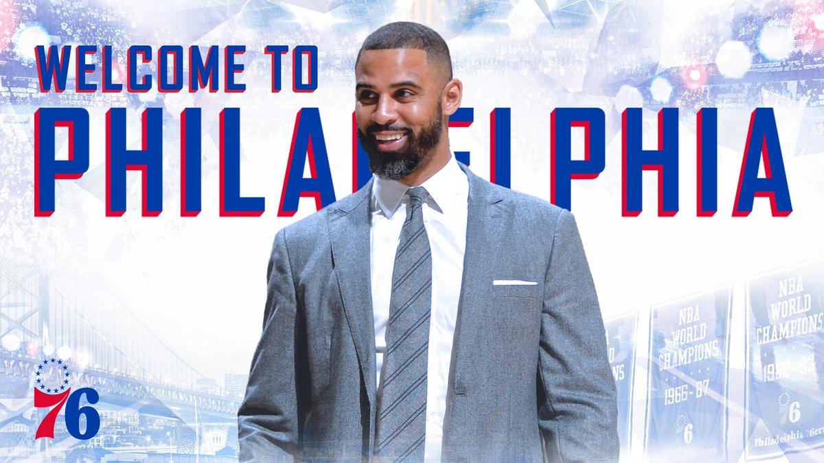 Welcome to Philadelphia, Ime Udoka!  📝 | http://sixe.rs/xyxg