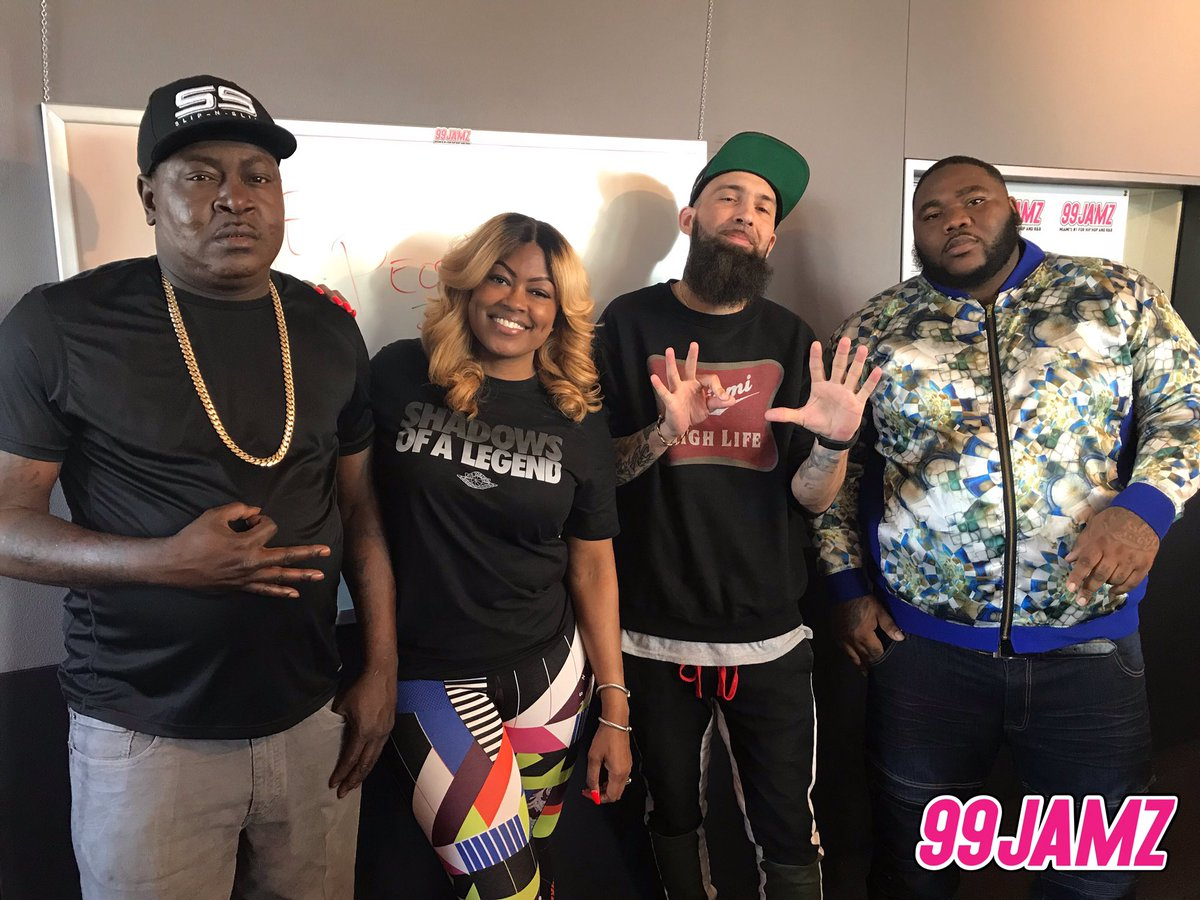 Slip-N-Slide is in the building! Tune in to the #AfternoonGetDown to hear @djentice and @supacindy chop it up w/ @mikesmiff305 and @305MAYOR talk about Mike's upcoming project #AllGasNoBrakesVol3! #SNS #WEDR #99JAMZ