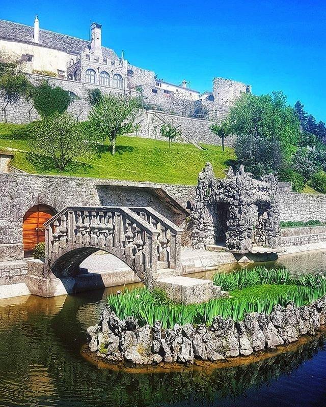 when visiting the #Karst region of #Slovenia make a stop at #Štanjel and enjoy the beauty of the romantic #Ferrari Garden  #photo mancakorelc #travel #tripadvisor #travelblogger #travelagent #lonelyplanet #natgeo