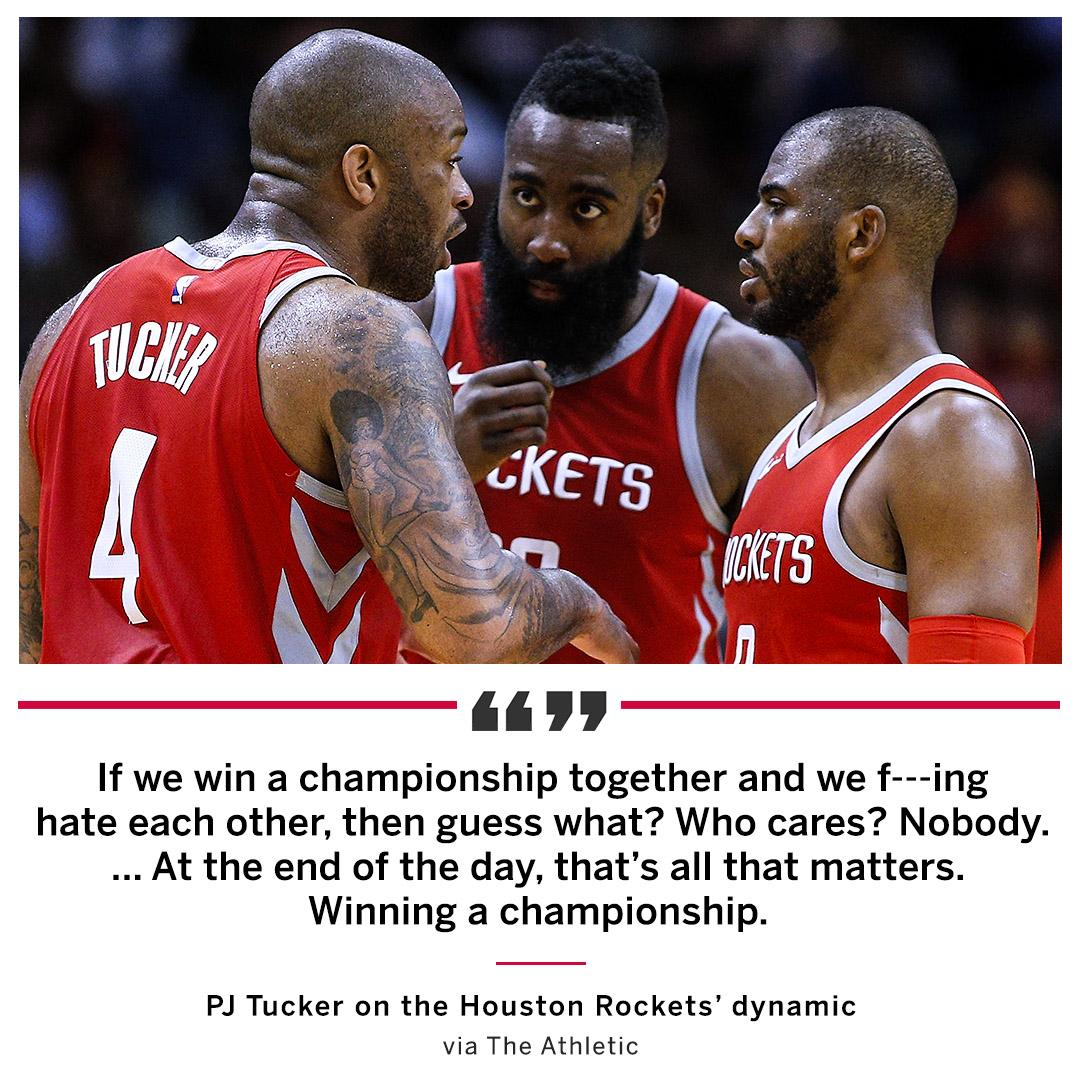 Rockets Player Has Brutally Honest Comment About Moving Forward