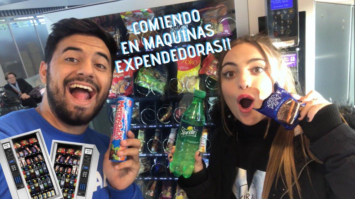 Comiendo en máquinas expendedoras https://youtu.be/v3X0zlZodAQ LIKE!