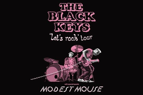 3 months until @theblackkeys bring their #LetsRockTour to Enterprise Center!! 🤘🏽 #STL 🎟️ bit.ly/2Yf16eq
