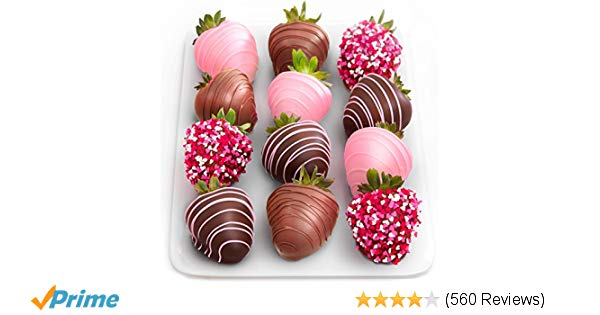 Love Berries Chocolate Covered Strawberries   https://amzn.to/2Gjtpmt   Your Passion #F33dYourPassion #ValentinesDay #BirthDays #Fridays #Saturdays #Sundays