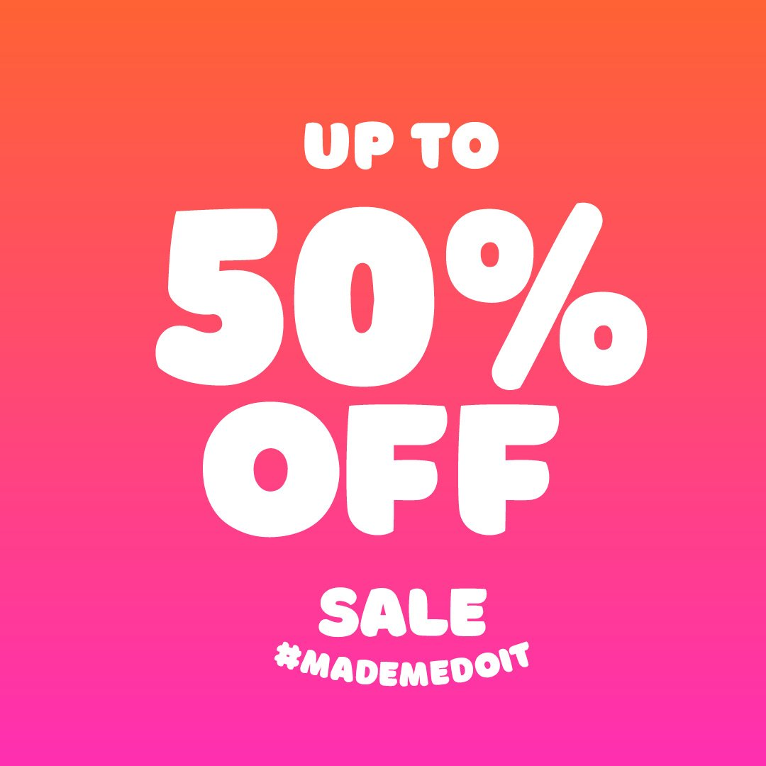 GUYS! EVEN MORE STUFF JUST GOT ADDED TO OUR SALE! Go check it out in-store or online - your favourites might be on sale! https://t.co/dHRq0FkQnb   #sale #salemademedoit https://t.co/n4SXNDrogG