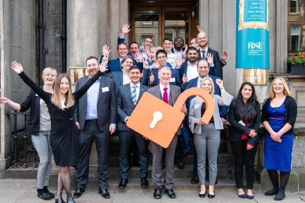 Twenty entrepreneurs with early stage companies are celebrating their successes following a year-long programme overseen by the Royal Society of Edinburgh. #socialenterprise https://www.scotsman.com/business/scotland-s-next-generation-of-entrepreneurs-go-for-growth-1-4954684…