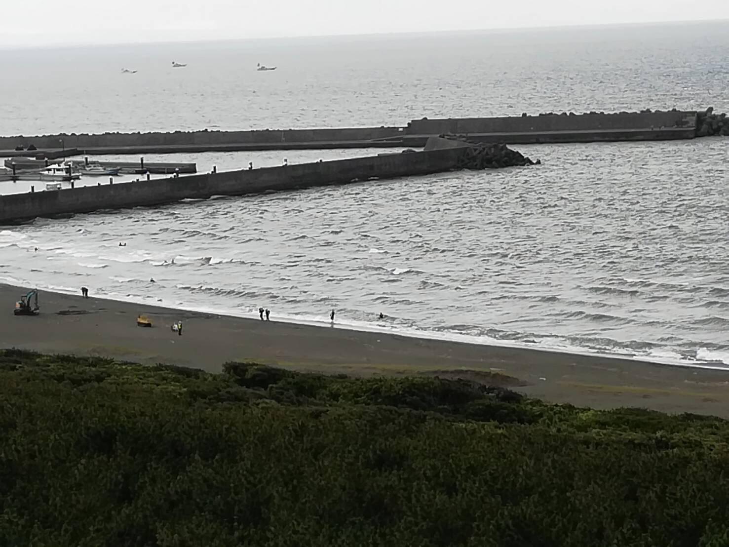 平塚市高浜台で下半身が切断された女性の遺体が見つかった現場画像
