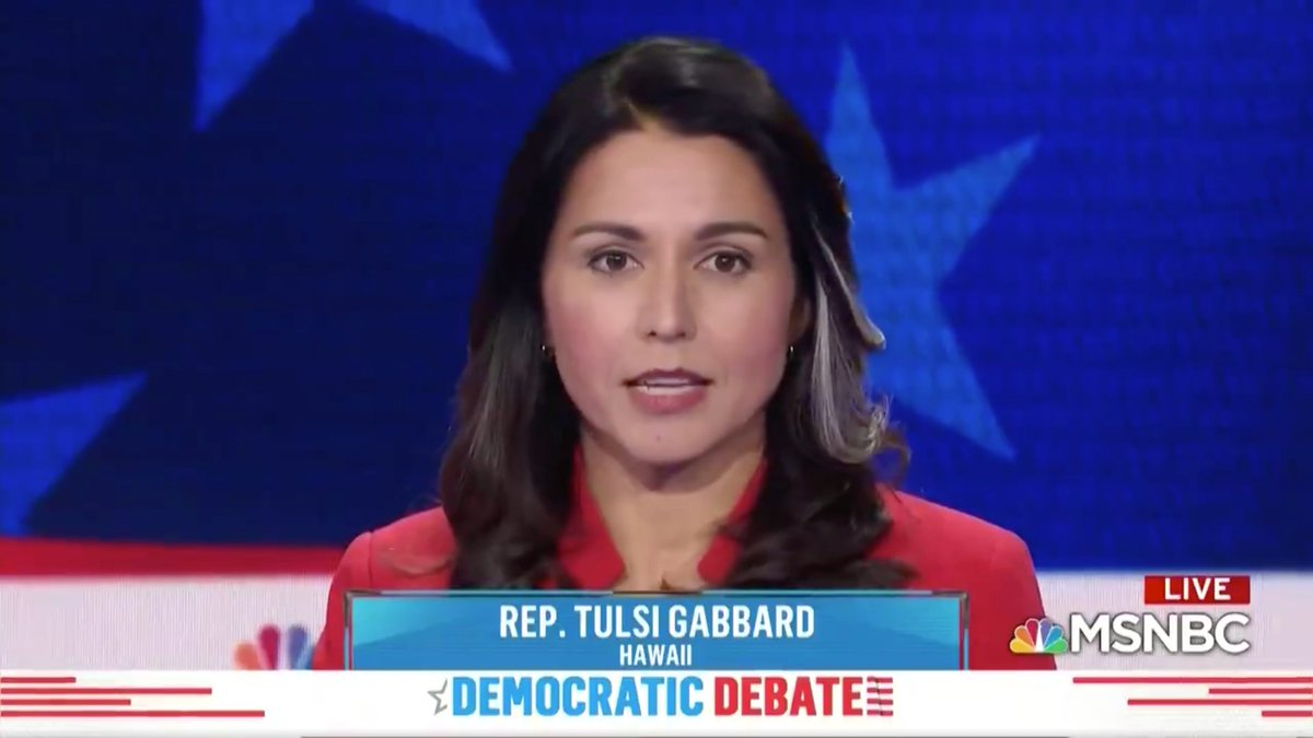@TulsiGabbard's photo on #Tulsi2020