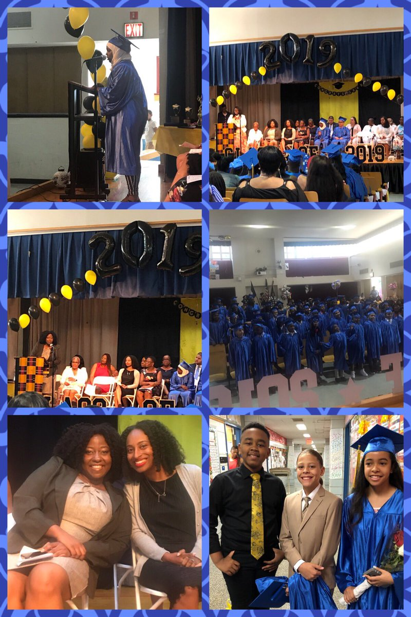 Congratulations to the Fifth Grade graduates of the Class 2019. We wish you well as your journey to Middle School begins. We would like to thank MS 484 for always supporting us when needed and graduation organizers of PS 12 for putting this event together. https://t.co/MmiCpaDBrX