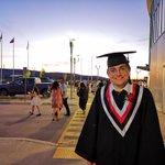Image for the Tweet beginning: @BishopReding 2019 graduate Darwin Glencross