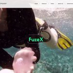 Image for the Tweet beginning: Improving the FuzeX homepage... #fuzex #homepage