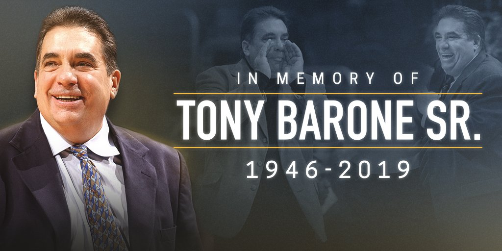 The membership of the National Basketball Coaches Association mourn the passing of Coach Tony Barone Sr. Our thoughts and prayers go out to the entire Barone family during this difficult time.