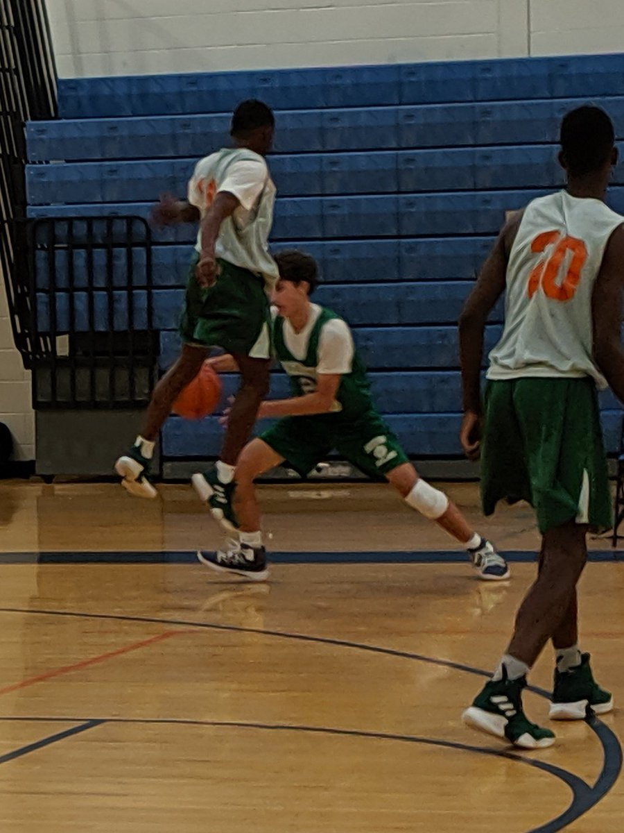 Got to watch my fav point guard play 3 summer league games! He answered the 3Ws tonight: who to get ball to, when and where! Going to be a fun senior year! He plays because he loves the game and loves his teammates! What more could you ask for?