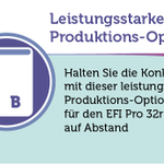 Image for the Tweet beginning: Mit der Produktions-Option für den