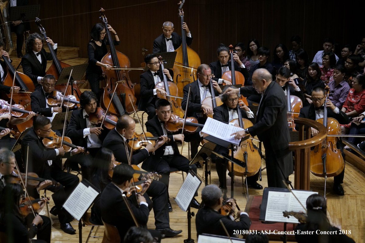 Jakarta Simfonia Orchestra and Jakarta Oratorio Society will perform