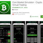 Image for the Tweet beginning: Introduce #Crypto Market Simulator App