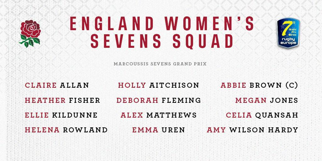 test Twitter Media - Your England Women's Sevens squad for this weekend's #Marcoussis7s 🌹  Preview: https://t.co/rcmkHEOo7X https://t.co/WDkxbhxaII