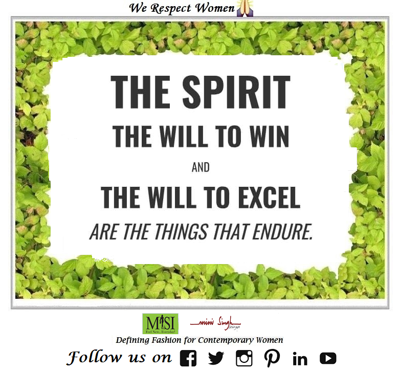 The #spirit and #will to attain #victory & #excellence are the major #things to #achieve any #goal. Have A #Blissful Day!! #Minisinghwishes #Minisinghmotivation #Minisinghinspiration #Minisinghoptimism #MinisinghPositivity #MinisinghThoughts