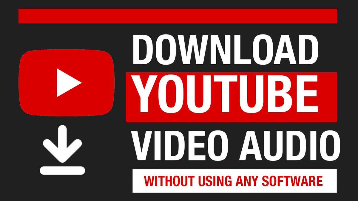 Hashtag #downloadyoutubevideos sur Twitter